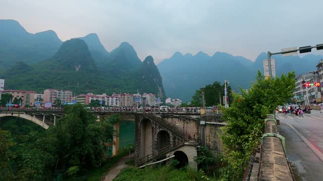 busy mountain county - china east asia stock videos & royalty-free footage