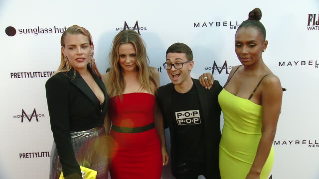 Busy Philipps Alicia Silverstone Christian Siriano and Janet Mock at The Daily Front Row Fashion Los Angeles Awards 2019 in Los Angeles CA