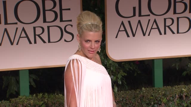 Busy Philipps at 69th Annual Golden Globe Awards Arrivals on January 15 2012 in Beverly Hills California