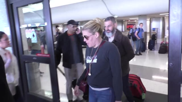 Busy Philipps at Los Angeles International Airportat Celebrity Sightings in Los Angeles on December 02 2016 in Los Angeles California