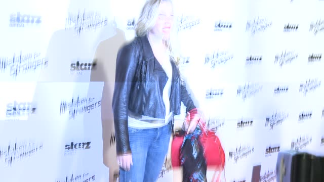 """busy philipps at """"mistaken for strangers"""" los angeles screening at the shrine auditorium on march 25, 2014 in los angeles, california. - shrine auditorium stock videos & royalty-free footage"""
