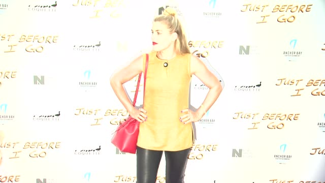 busy philipps at the just before i go los angeles premiere at arclight cinemas on april 20 2015 in hollywood california - arclight cinemas hollywood stock videos & royalty-free footage