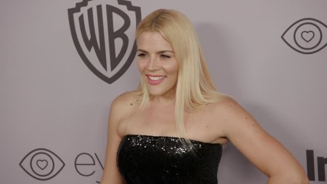 Busy Philipps at the Warner Bros Pictures and InStyle Host 19th Annual PostGolden Globes Party at The Beverly Hilton Hotel on January 7 2018 in...