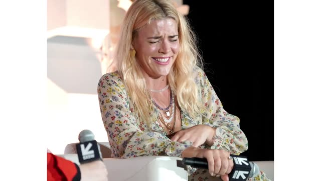 Busy Philipps speaks onstage at Featured Session Busy Philipps with Hillary Kerr during the 2019 SXSW Conference and Festivals at Fairmont Manchester...