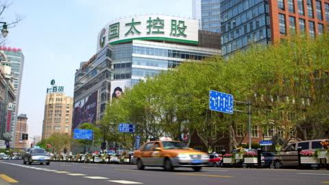 vídeos y material grabado en eventos de stock de busy roads - shanghai, china - shanghái