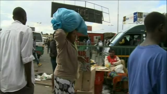 busy scenes in the city of harare - harare stock videos and b-roll footage