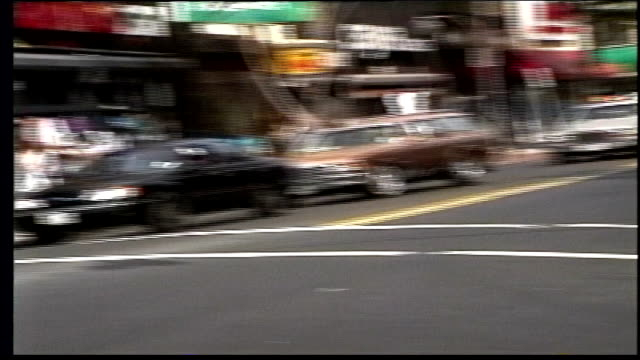 busy south brooklyn streets - pavement video stock e b–roll