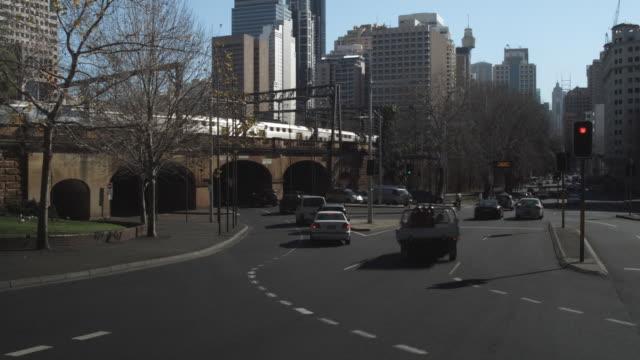 T/L WS Busy street / Sydney, New South Wales, Australia