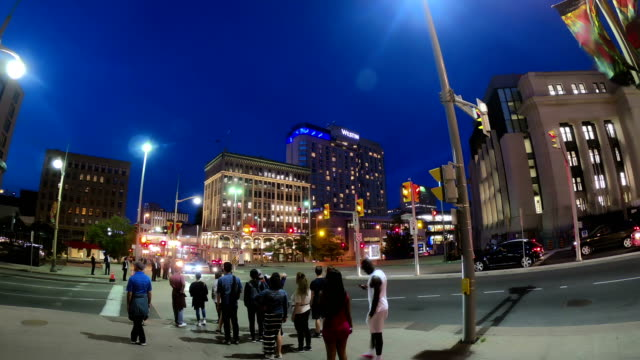 busy street time lapse,ottawa - ottawa stock videos and b-roll footage