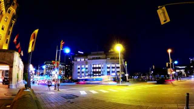 busy street time lapse,ottawa - ottawa stock videos & royalty-free footage