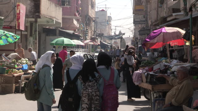 Busy Streets, Balata Refugee Camp, Palestine