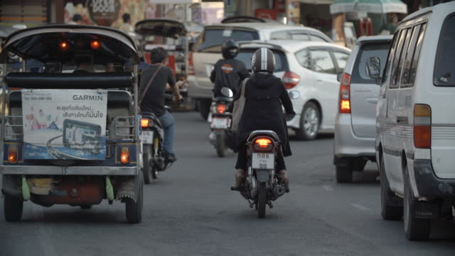Busy traffic / Chiangmai, Thailand