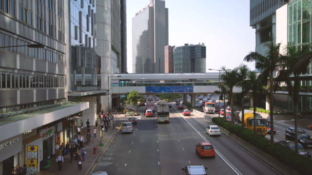WS Busy Traffic in Hong Kong / Hong Kong, China