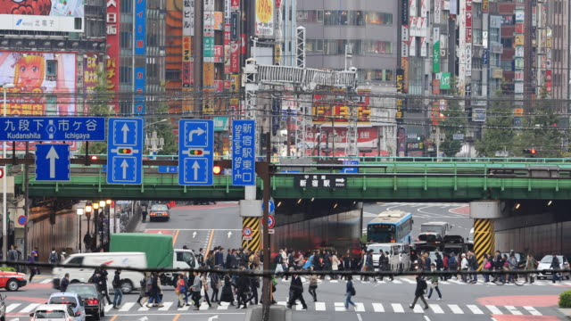 東京新宿で混雑