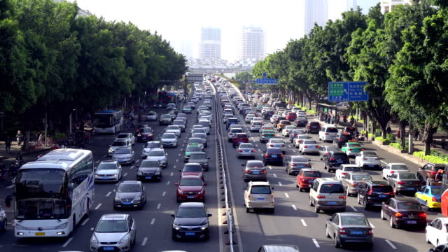 busy traffic - real time stock videos & royalty-free footage