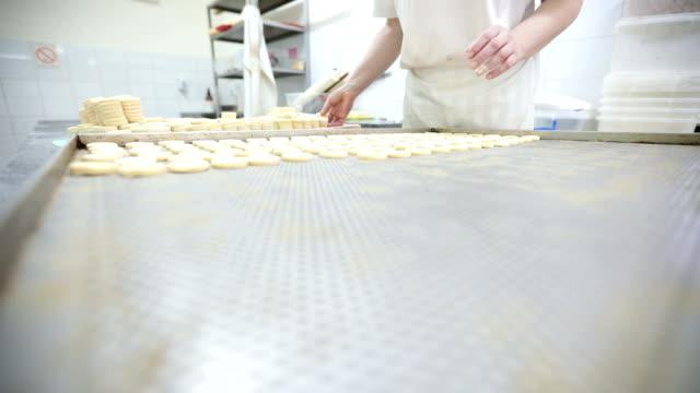 Busy woman baker