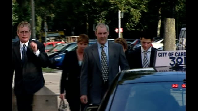 butcher jailed for ecoli outbreak wales cardiff cardiff crown court ext william john tudor along with others towards court - tudor stock videos and b-roll footage