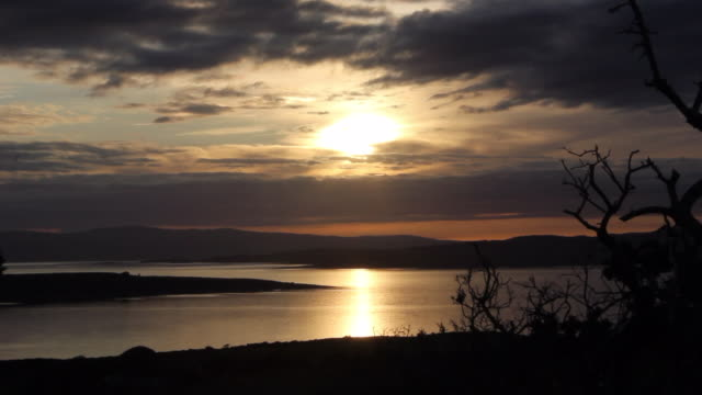 bute sunset - solstice stock videos & royalty-free footage