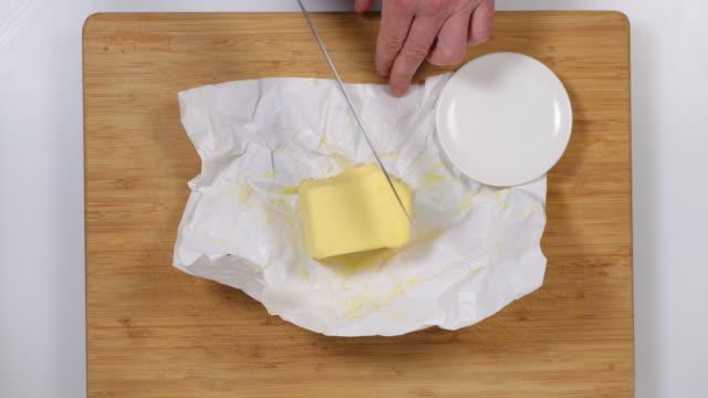 butter. - annick vanderschelden stock videos & royalty-free footage