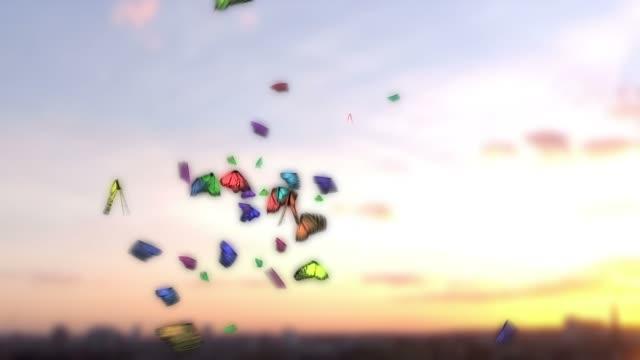 Schmetterlinge in CG gemacht