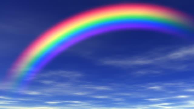 vídeos y material grabado en eventos de stock de mariposa y rainbow - arco iris