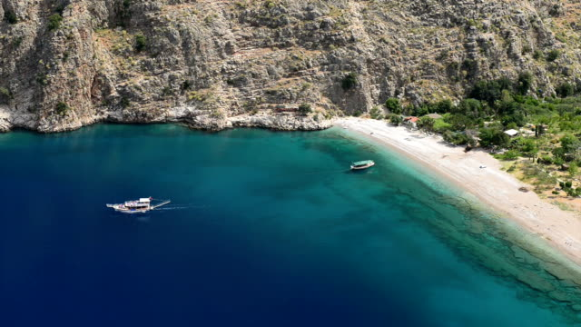 butterfly valley - fethiye stock videos and b-roll footage