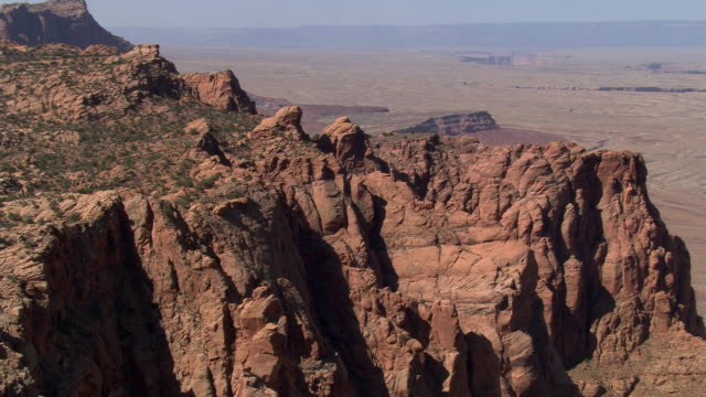 buttes beyond cummings mesa rim - artbeats stock videos & royalty-free footage