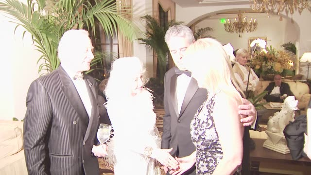 buzz aldrin, alan j. fuerstman, wife susan fuerstman at the montage beverly hills opening at los angeles ca. - montage beverly hills stock videos & royalty-free footage
