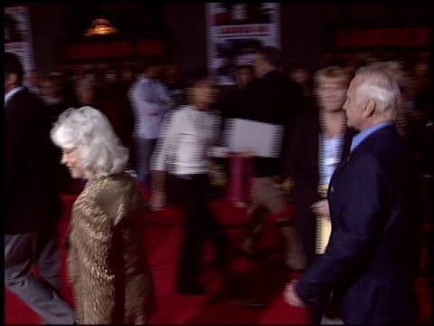 buzz aldrin at the 'ladder 49' premiere at the el capitan theatre in hollywood, california on september 20, 2004. - el capitan theatre stock videos & royalty-free footage