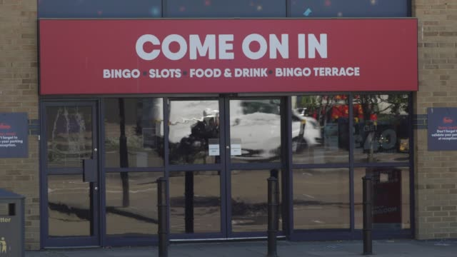 buzz bingo on july 20, 2020 in london, england high streets in the uk are expected to face large numbers of job cuts and the closures of many stores... - cut video transition stock videos & royalty-free footage