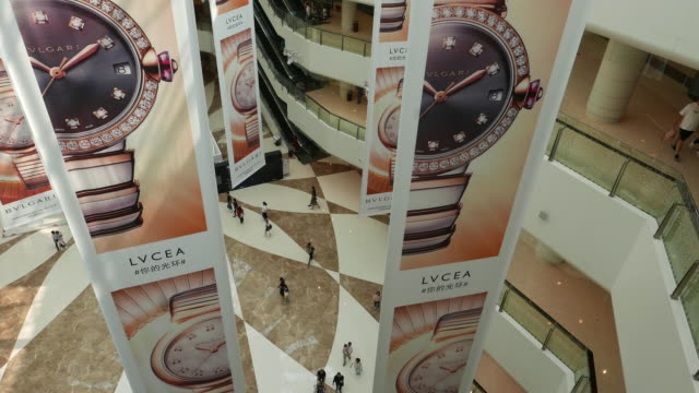 bvlgari is an italian jewelry and luxury goods brand despite a slowdown in the luxury market over the past two years china remains a strong force in... - years stock videos and b-roll footage
