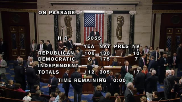 By a vote of 112305 the House of Representatives defeated its own spending bill for energy and water resources development after three days of the...