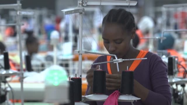 by attracting foreign investors through cheap labour ethiopia wants to follow china's example in creating a robust manufacturing sector that can... - employment issues stock videos & royalty-free footage