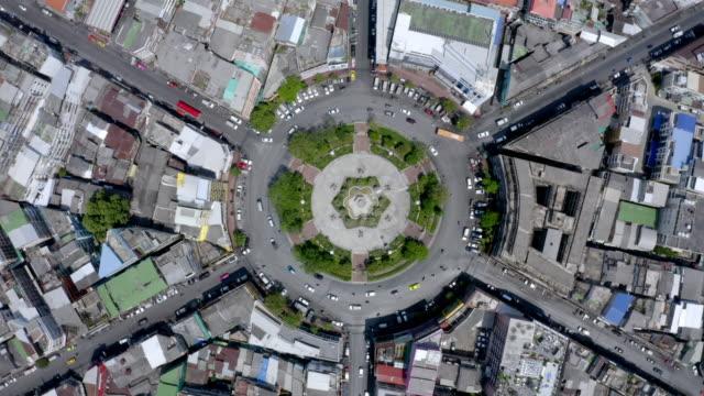 aerial by drone, ws ha bangkok skyline at daytime / bangkok, thailand - stadsgata bildbanksvideor och videomaterial från bakom kulisserna