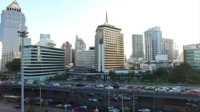 AERIAL By Drone, Bangkok, Thailand