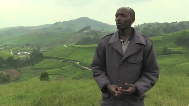 By Kesho hill where more than 1400 Tutsis were killed during the Rwandan genocide those who escaped with their lives remember Pascal Simbikangwa a...