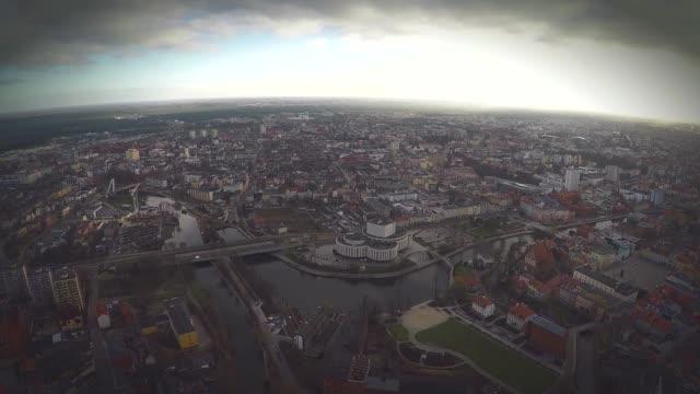 bydgoszcz aerial footage - opera stock videos & royalty-free footage