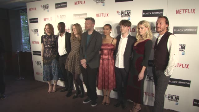 Byrce Dallas Howard Malachi Kirby Anabel Jones Charlie Brooker Gugu MbathaRaw Alex Lawther Alice Eve Jerome Flynn at LFF Connects Black Mirror...