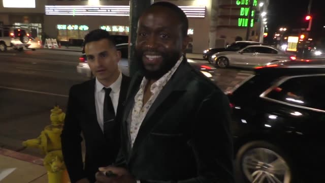 byron bowers greets fans outside the honey boy premiere at arclight cinerama dome in hollywood in celebrity sightings in los angeles, - cinerama dome hollywood stock videos & royalty-free footage