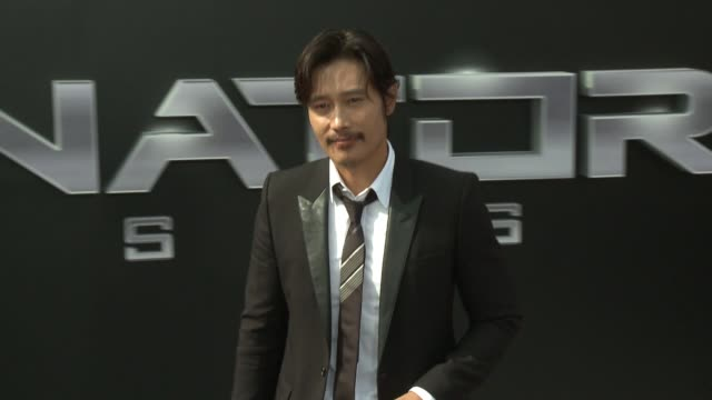 Byunghun Lee at the Premiere Of Paramount Pictures' Terminator Genisys at Dolby Theatre on June 28 2015 in Hollywood California