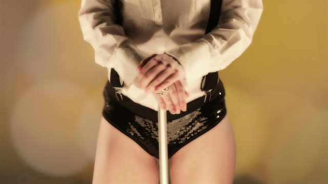 cabaret dancer - teasing stock videos and b-roll footage