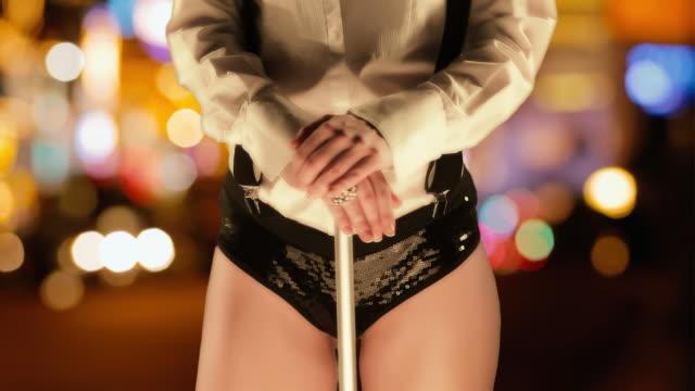 cabaret dancer - teasing stock videos & royalty-free footage