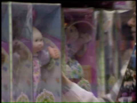cabbage patch kids doll on november 28, 1995 in chicago, illinois - doll stock videos & royalty-free footage