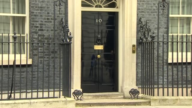 cabinet arrivals and departures at 10 downing street england london downing street ext prof chris whitty departing number 10 / jacob reesmogg mp and... - chief leader stock videos & royalty-free footage