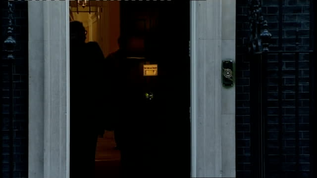 london downing street ext cabinet meeting arrivals including eric pickles mp / dominic grieve mp / michael gove mp / ken clarke mp / william hague mp... - dominic grieve stock videos and b-roll footage