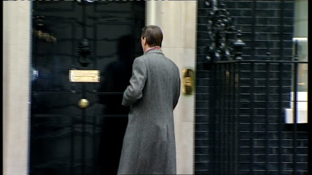 London Downing Street EXT Philip Hammond MP arrival/ Eric Pickles MP arrival/ Dominic Grieve arrival/ Andrew Mitchell MP arrival Owen Paterson MP...