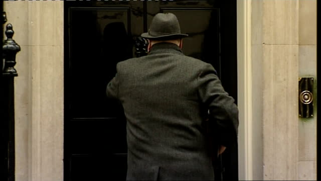 London Downing Street Ken Clarke MP out of car / Lord Strathclyde arrival / Eric Pickles MP arriving / Owen Paterson MP arriving / Vince Cable MP and...