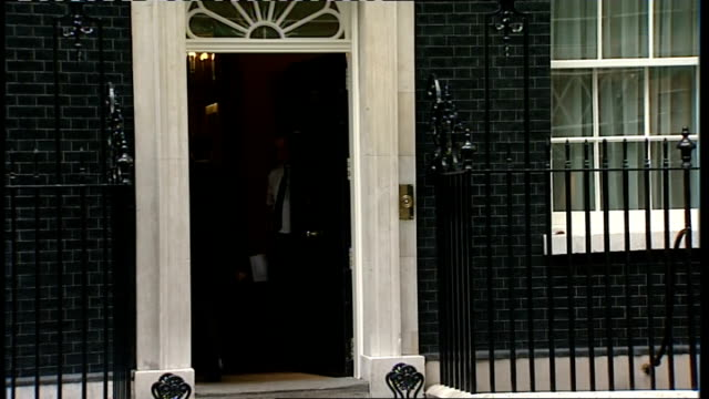 cabinet arrivals; jacqui smith mp arriving / lord mandelson arriving / john hutton arriving - john hutton stock videos & royalty-free footage
