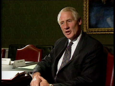 Secrecy ended INT CMS Sir Robin Butler intvwd SOF Civil Servants have no interest of their own in secrecy BV Butler and Waldegrave posing for...