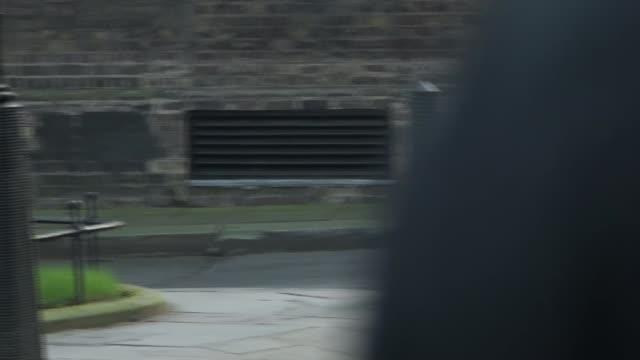 cabinet downing street arrivals; england: london: downing street: ext various arrivals at number 10, including julian smith mp / alok sharma mp /... - baroness stock videos & royalty-free footage